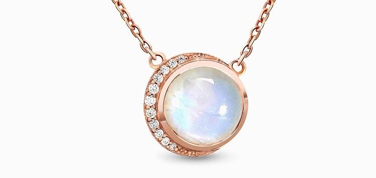 Moonstone Necklace - Moon Desire