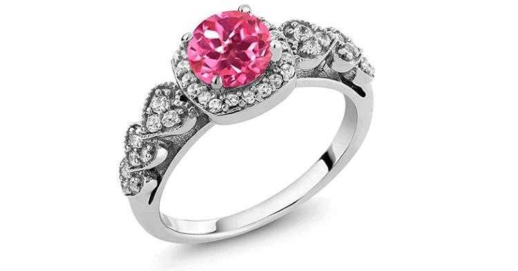 Gem Stone King Pink Mystic Topaz